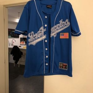 Men's Los Angeles Jersey Baseball